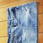 Krótka jeansowa spódniczka American Eagle