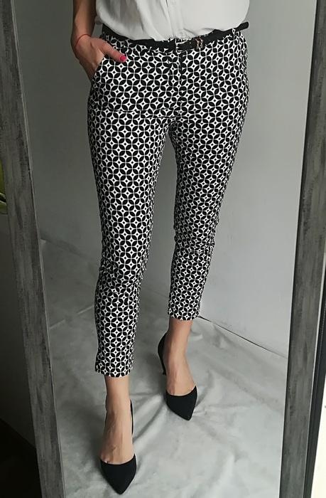 Freesia eleganckie spodnie wzory S...