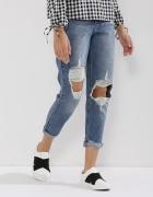 Spodnie boyfriend jeans urban bliss 36 dziury...