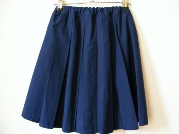 Sukienki i spódniczki Spódniczka dziewczęca granatowa