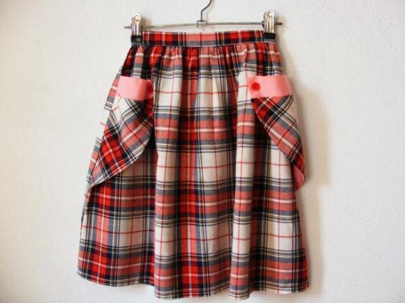 Sukienki i spódniczki Spódniczka dziewczęca krateczka