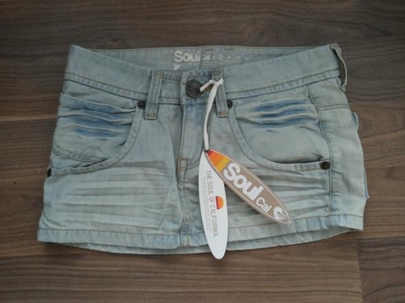 Spódnice spódniczka mini jeansowa 36 S NOWA