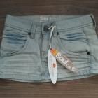 spódniczka mini jeansowa 36 S NOWA