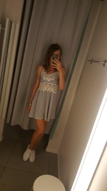 Nowa sukienka w paski top shop s