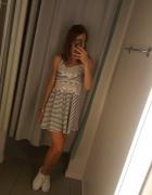 Nowa sukienka w paski top shop s...