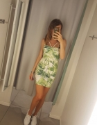 Nowa z metkami neonowa zielona sukienka boohoo s