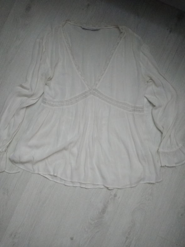 Biała bluzka Zara...