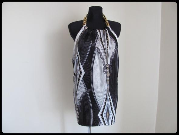 LIPSY LONDON sukienka letnia odsłonięte plecy 38 M...