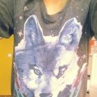 Tally Wejl Bluza wilk z wilkiem galaxy