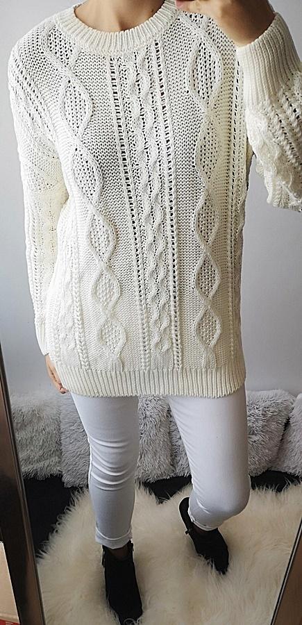 Swetry Top Secret Sweter damski z zamkiem 38 M
