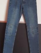 Spodnie jeansowe z przeszyciami Cubus xxs 32 xs 34...