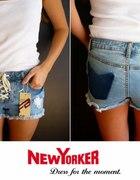 Krótkie dżinsowe spodenki Fishbone NewYorker xs 34...