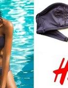 Szara góra od stroju kąpielowego bikini h&m 36 s...