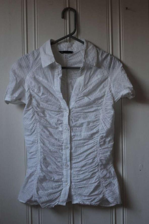 Biała bluzka koszulka tshirt Mango sport xs 34