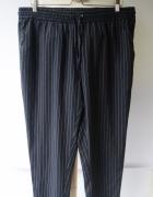 Spodnie Paski Cubus XL 42 Dresy Dresowe Eleganckie...