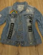 kurtka katana jeans TALLY WEIL skinny 36 naszywki...