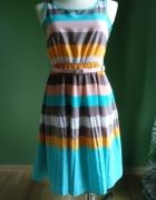 Sukienka Vila plisowany dół 38...