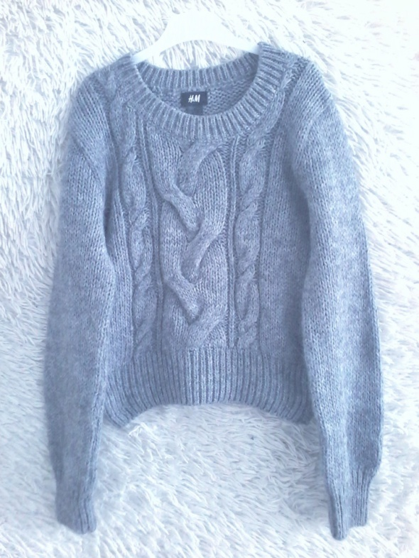Sweter szary H&M