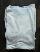 Biało niebieska koszula nocna 44...