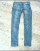 Jeansowe spodnie denim H&M...