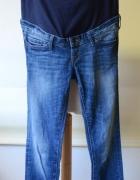 Spodnie H&M Mama M 38 Ciążowe Jeans Slim Dzinsowe...