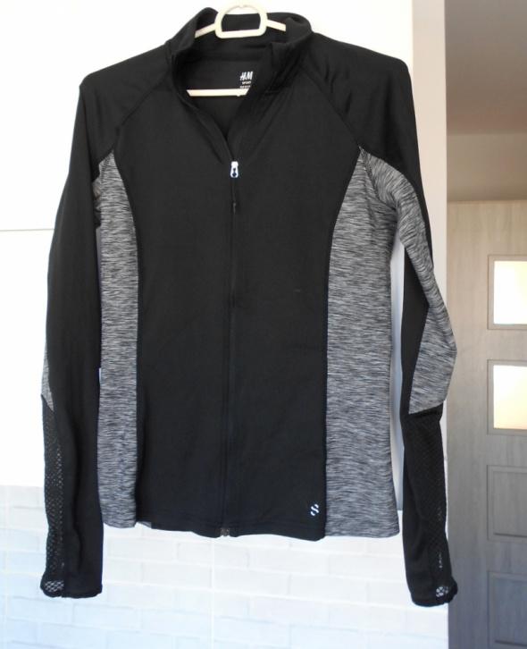 HM Sport czarna bluza sportowa wyszczuplająca