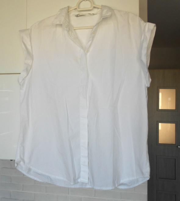 Zara biała koszula bluzka minimalizm...