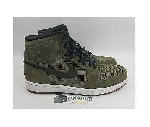 Nike Air Jordan 1 Retro Hi Premier Army Green...