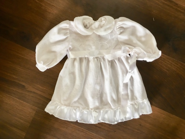Sukienki i spódniczki Sukienka Biała Chrzest 74 Baby Colibra