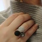 cudowny pierścionek swarovski rozmiar 16 bransoletka do kompletu na innej aukcji