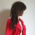 Czerwony płaszczyk typu bosmanka r S