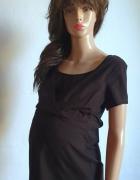 Czarna bluzeczka ciążowa do karmienia r M...