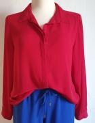 Czerwona lejąca koszula r 46...