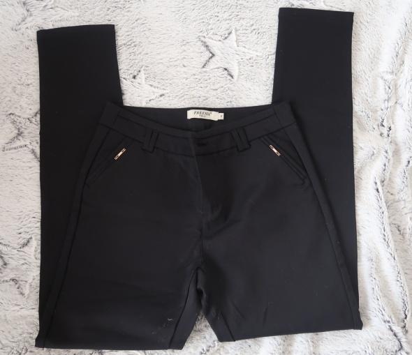 Spodnie Eleganckie czarne spodnie s