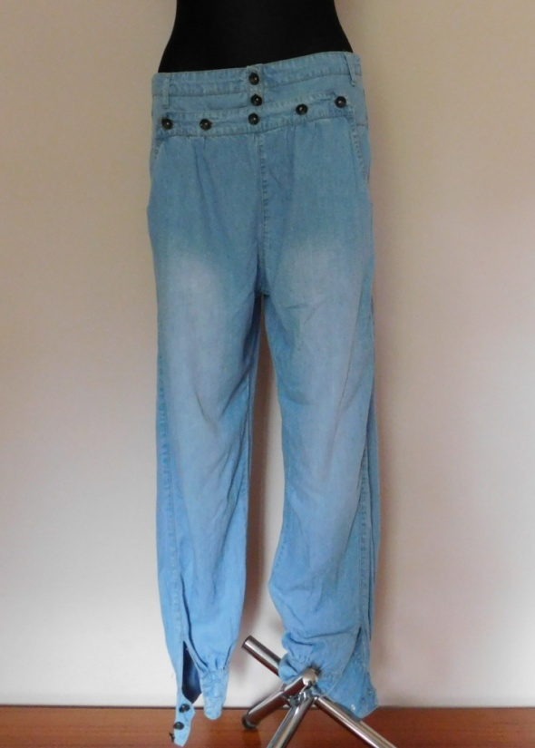 Spodnie Blanco Jeans spodnie luźne 40 42