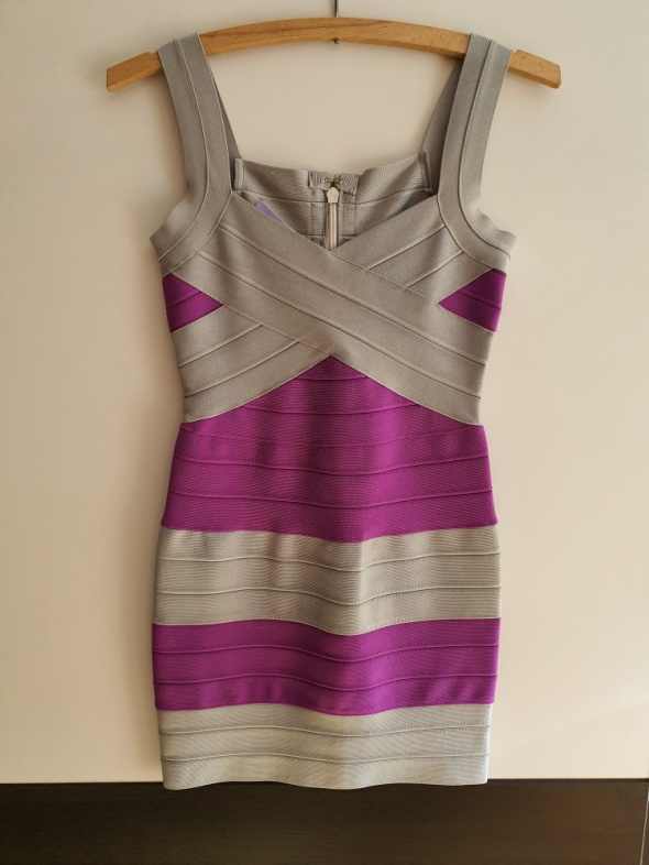 Bandażowa sukienka S