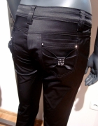 Czarne Rozszerzane Spodnie 27 32 S...