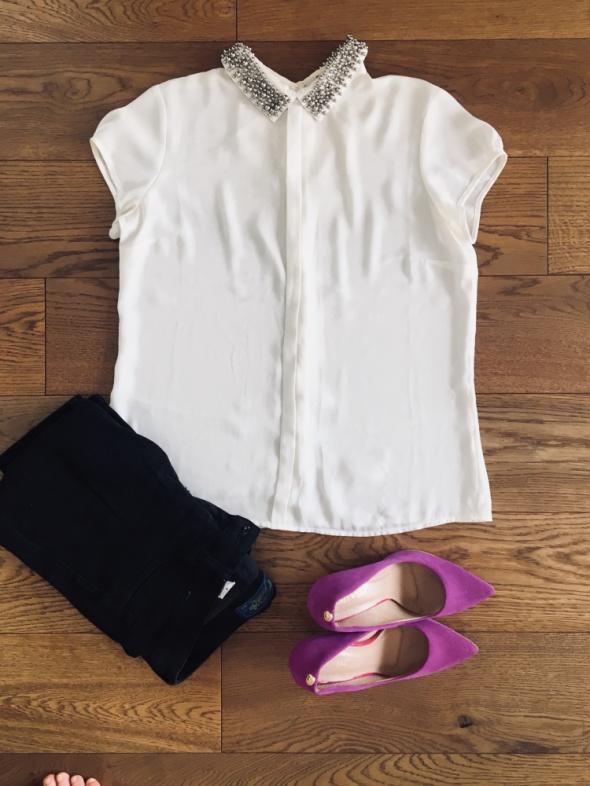 Koszule Biała koszula MOHITO