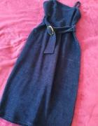 Suknia welurowa fioletowa vintage...