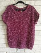 Sweter z kokardą z tyłu 42 44...