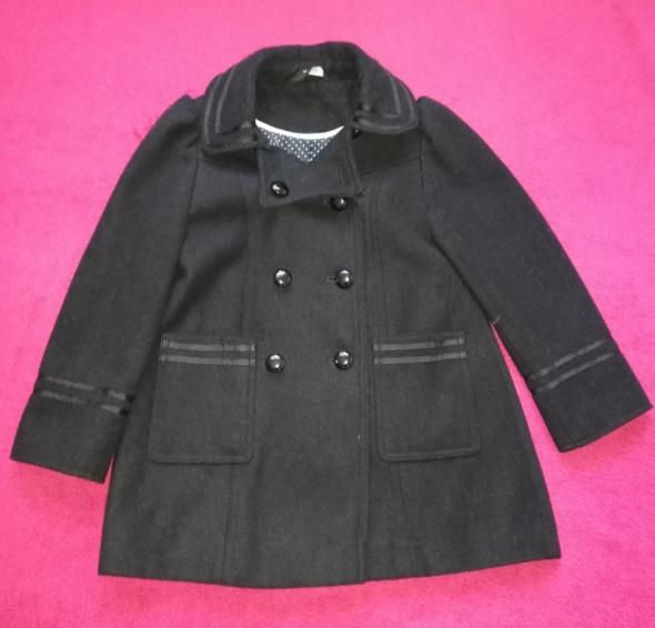Śliczny płaszczyk czarny George 56 lat wiosenno jesienny