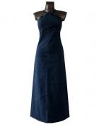 Diesel Niebieska Sukienka Dżinsowa Maxi 40 L...