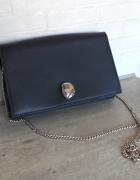 Zara nowa torebka granatowa na łańcuszku elegancka...