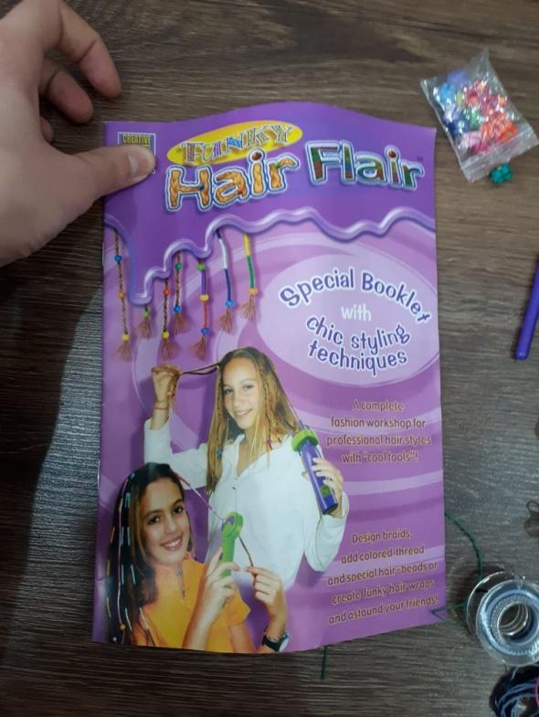 Hair Flair zestaw do włosów...