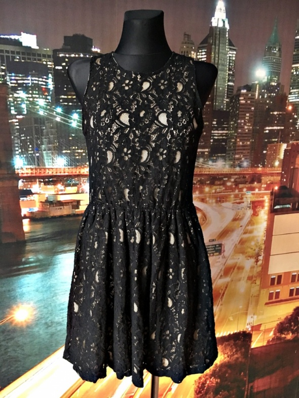 atmosphere sukienka rozkloszowana koronkowa hit blog 38...