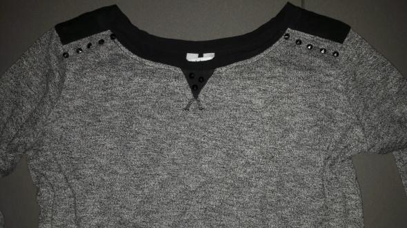 Bluzka sweter z dzetami rekaw 3 4