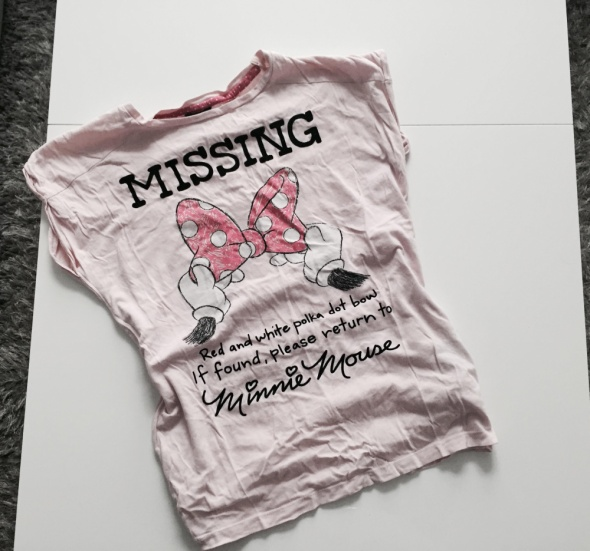 rózowa koszulka mickey House