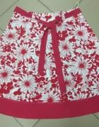 Spódnica czerwono biała New Look 40 L...