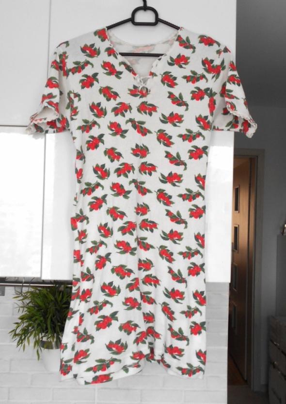 Suknie i sukienki Asos sukienka bandażowa floral kwiaty dekolt wiązany sexy