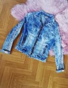 Modna kurteczka kurtka jeans ramoneska...
